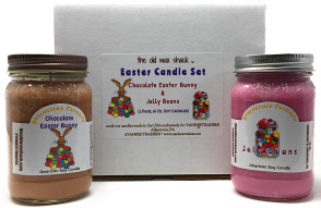 Easter Soy Candles, 2 Pack Set